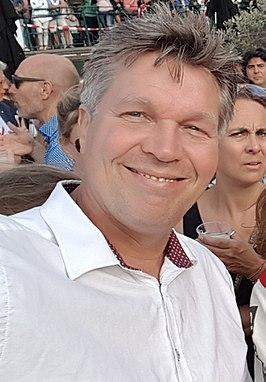 Chris de Waard in 2017 in Leiden.