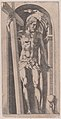 Christ Holding a Cross in a Niche Met DP889680.jpg