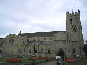 Listed buildings in Christchurch, Dorset - Christchurch Priory
