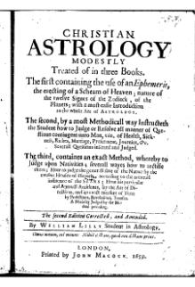 Christian Astrology (Lilly, 1659).djvu