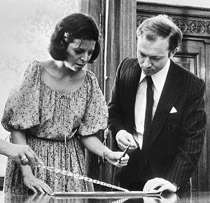 Christina Onassis - Marriage of Christina Onassis and Sergei Kauzov on 2 August 1978