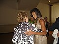 Christine Gregoire and Michelle Obama 13 (2841599665).jpg