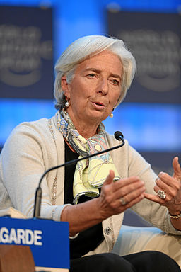 Christine Lagarde World Economic Forum 2013 (2)