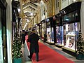 Christmas at Burlington Arcade - geograph.org.uk - 287497.jpg