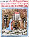 Chronicon Pictum P042 Óbudai templom alapítása.JPG