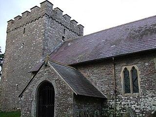 Merthyr Cynog hamlet in the county of Powys, Wales