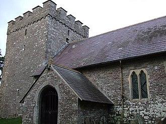 Merthyr Cynog - Church of St Cynog