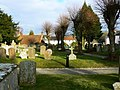 Churchyard, St Mary's Church, Kintbury - geograph.org.uk - 1745455.jpg