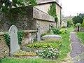 Churchyard path, St Bartholomew's Church - geograph.org.uk - 1994371.jpg