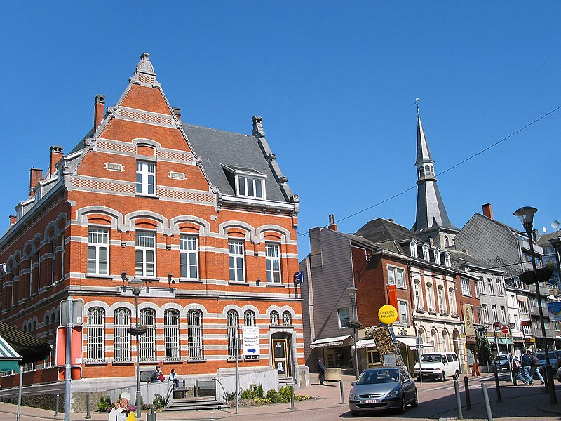 Ciney (Belgium), the Rotary club.