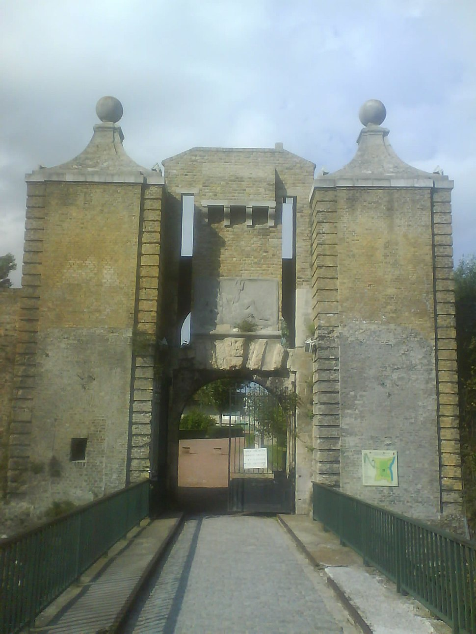 Citadelle de Calais - La Porte de Neptune