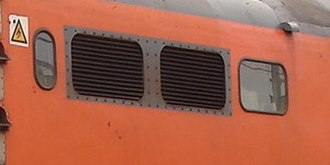 South African Class 6E1, Series 5 - Grilles without beading on Series 5 no. E1631