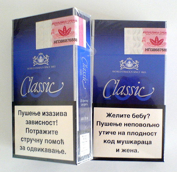 File:Classik Cigarette box.JPG