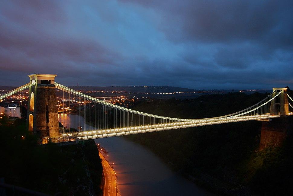 Clifton Suspension Bridge Late Evening