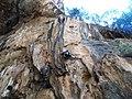 Climbing Grotte di San Giovanni.JPG