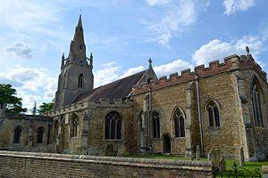 Willingham, Cambridgeshire - Willingham All Saints Church in July 2014