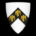 Coat of Arms of MAELOG CRWM, of Caernarvonshire, Lord of Llechwedd-Isaff and Creuddyn.png