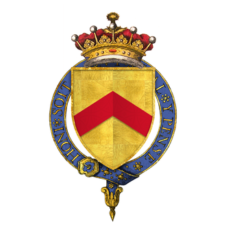 John Stafford, 1st Earl of Wiltshire - Arms of Sir John Stafford, 1st Earl of Wiltshire, KG