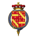 Coat of Arms of William Ormsby-Gore, 4th Baron Harlech, KG, GCMG, PC.png