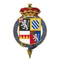 Coat of arms of John Churchill, 1st Duke of Marlborough, KG.png
