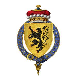 John Welles, 1st Viscount Welles - Arms of Sir John Welles, 1st Viscount Welles, KG