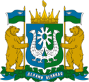 Coat of arms of Yugra (Khanty-Mansia).png