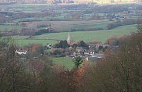 Coddington from Oyster Hill - geograph.org.uk - 287621.jpg