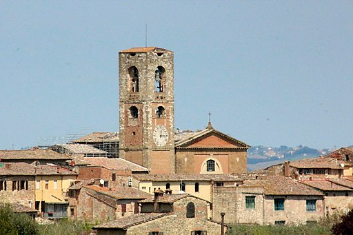 Colle di Val d'Elsa, veduta del Duomo