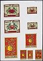 Collectie NMvWereldculturen, TM-6477-1, Etiketten van luciferdoosjes, 1900-1949.jpg