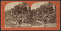 College Stand, Intercollegiate Regatta, Sar. Lake, from Robert N. Dennis collection of stereoscopic views.png