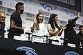 Colman Domingo, Alycia Debnam-Carey, Danay Garcia & Lennie James (40399045924).jpg