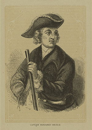 United States Army Rangers - Colonel Benjamin Church (1639-1718) Father of American Ranging