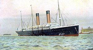 White Star Line - Oceanic of 1899, (17,272 GRT)