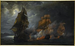 Action of 20 October 1778 - Action of the French ship 'Triton against the ''Jupiter'' and the ''Medea''
