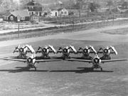 Comparison of F4F Wildcats with and without folded wings c1942