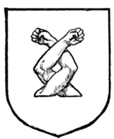 Fig. 267.—Two arms counter-embowed and interlaced.