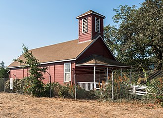National Register of Historic Places listings in Mendocino County, California - Image: Con Creek School, Boonville