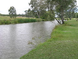 Condamine River, Warwick, Queensland, 2009