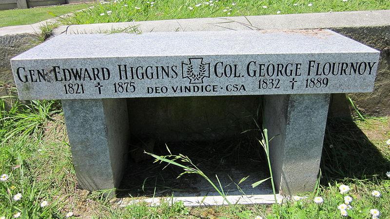 File:Confederate Memorial Bench, Holy Cross, Colma.JPG
