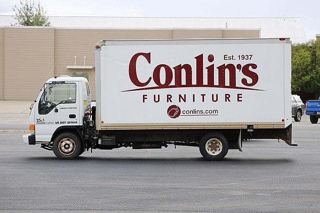 File Conlin S Furniture Branded Isuzu Npr Truck In
