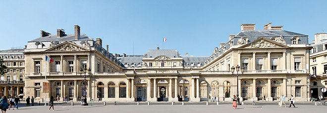 The Palais-Royal, residence of the Conseil d'Etat Conseil d'Etat Paris WA.jpg