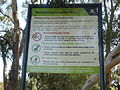 Conservation sign at the Jackadder Lake.JPG