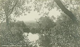 Antrim, New Hampshire - Contoocook River c. 1915