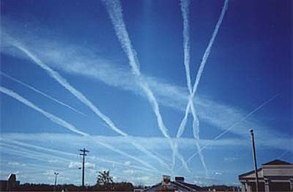 Environmental impact of aviation - Contrails