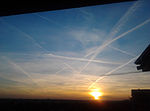 Contrails over Warsaw, 2015.jpg