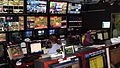 Control room of Arabic-language satellite TV channel Alhurra, June 2008.jpg