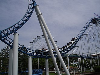 Valleyfair - Image: Corkscrew (Valleyfair)