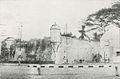 Corner of fortress around Yogyakarta Kraton, Kota Jogjakarta 200 Tahun, plate before page 33.jpg