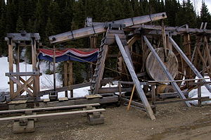 Cornish diaspora - A Cornish water wheel in British Columbia