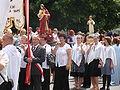 Corpus Christi Mass and Procession in Sanok 2009 12.JPG
